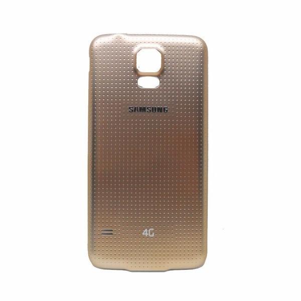 Tampa da bateria Samsung SM-G900M Galaxy S5 dourado.jpg